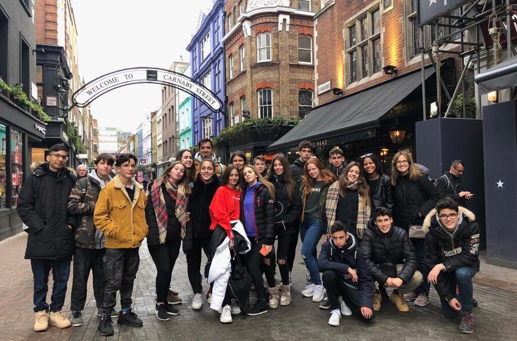 Viatge a Londres de final de curs