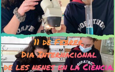 11 DE FEBRER DIA INTERNACIONAL DE LES NENES EN LA CIÈNCIA.